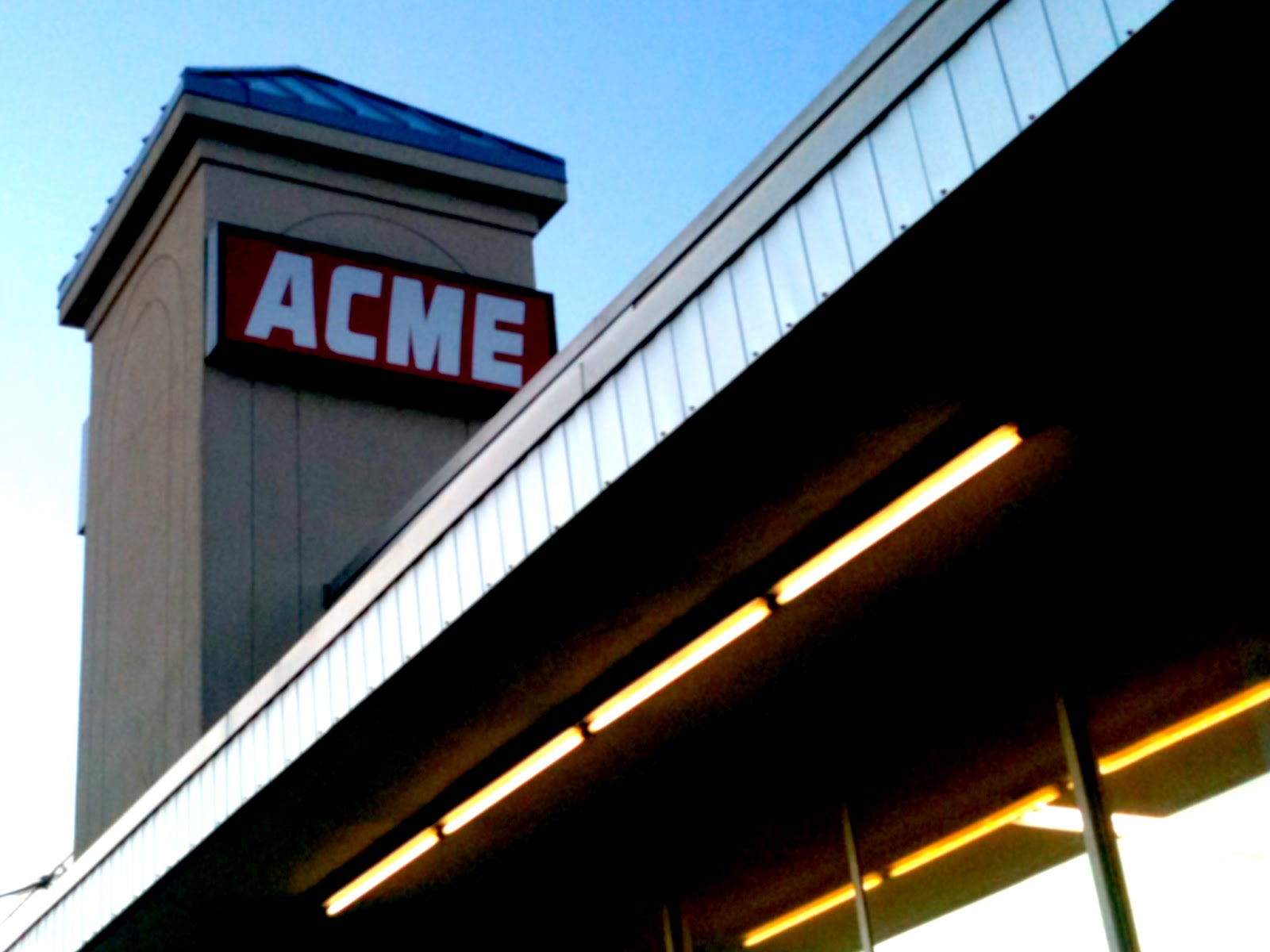 Go see this Acme. Who knows how much longer it will be around. I