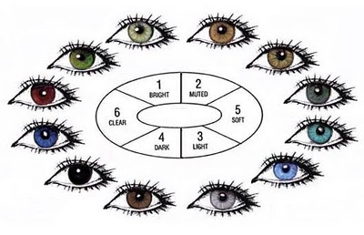 cat eye colors chart