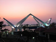 Bridge in cochin- Design inspired by Chinese Fishing Nets