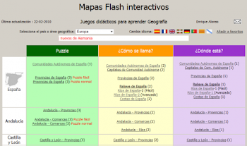 MAPAS FLASH INTERACTIVOS