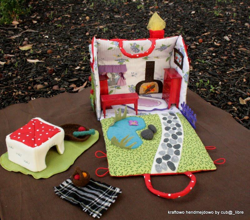 Как сшить домик для куклы