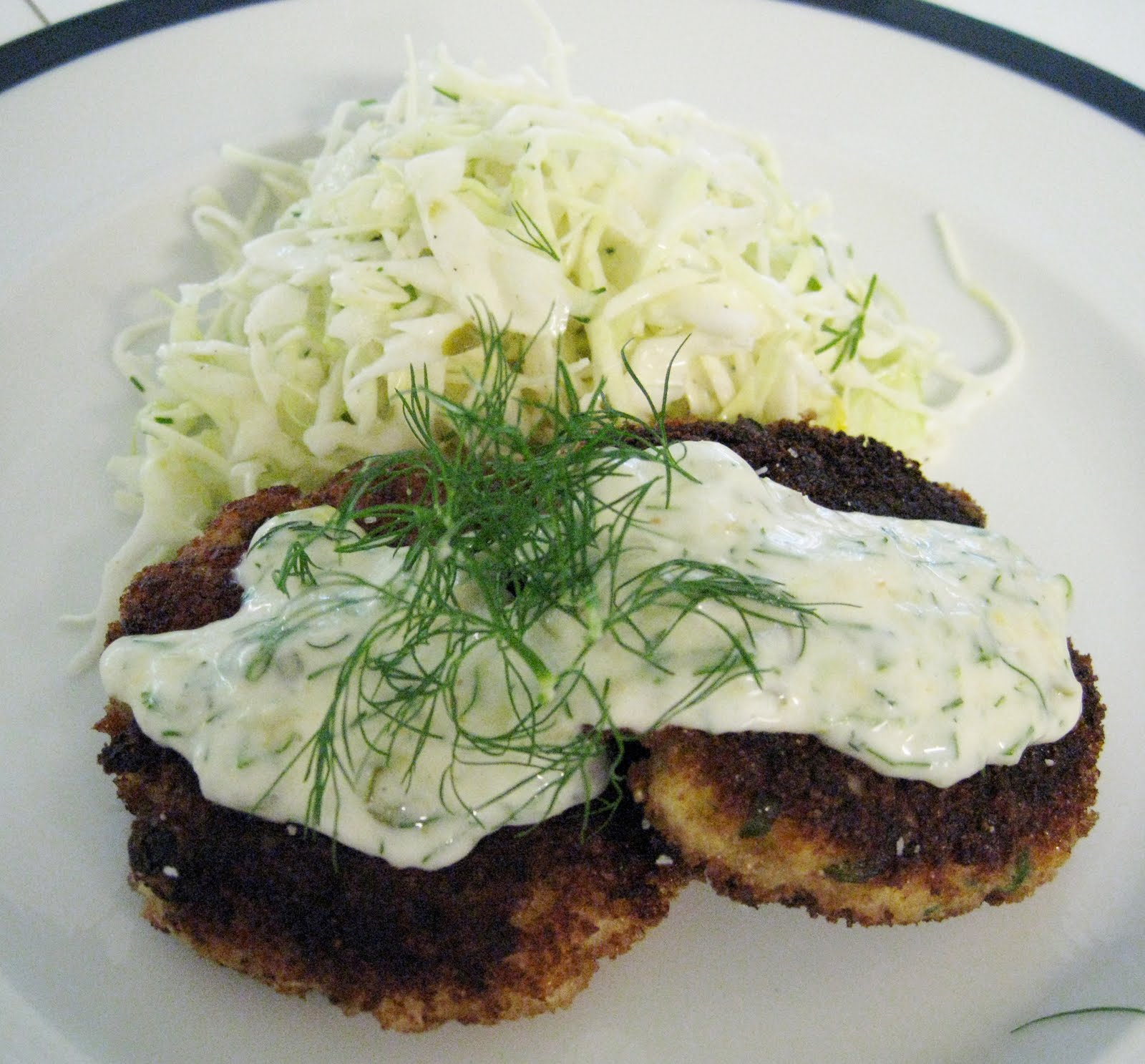 ... horseradish fish cakes recipes dishmaps horseradish sauce lemon