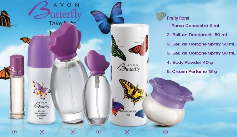 Avon Live Perfume Butterfly