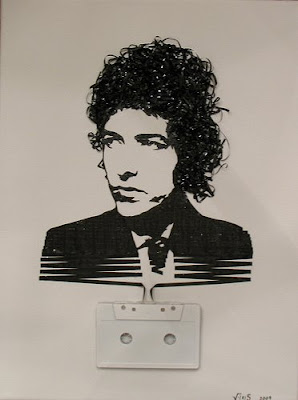 Creative Cassette Tape Art
