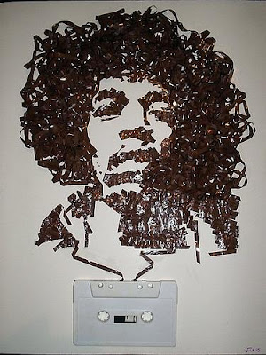 Creative Cassette Tape Art