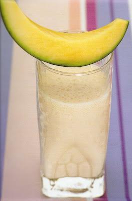 refresco de melón y sandía