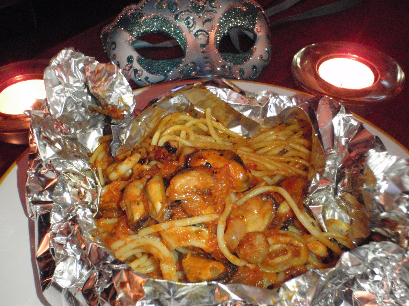 Mon carnet de cuisine spaghetti aux fruits de mer la v nitienne - Spaghetti aux fruits de mer ...