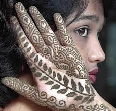 African Mehndi Design