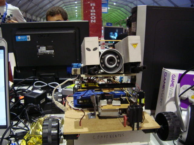 An early version at Campus Party 2009