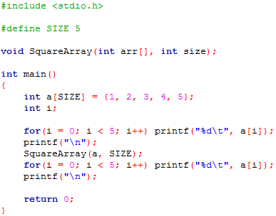 array sample program This is a sample program to count the number of occurrences of each digit, of white space characters (blank, tab, newline), and of all other characters this is.