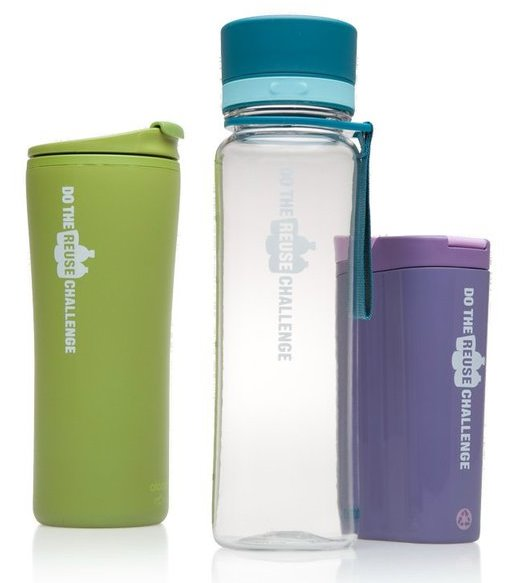 Various reusable bottles