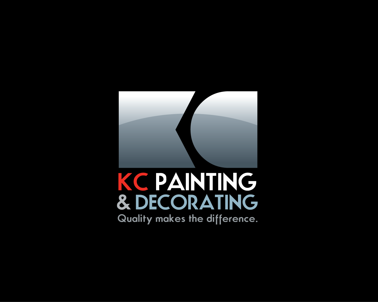 Kc painting decorating logo development lin wilde for Painting decorating logos