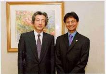 With Koizumi Junichiro PM