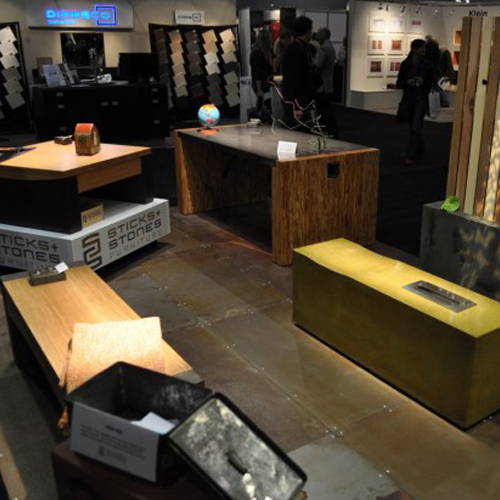 Sticks And Stones Furniture, A Canadian Manufacturer Of Concrete And Wood  Furnishings, Recently Exhibited Their Work At The IDS West Show In  Vancouver, ...