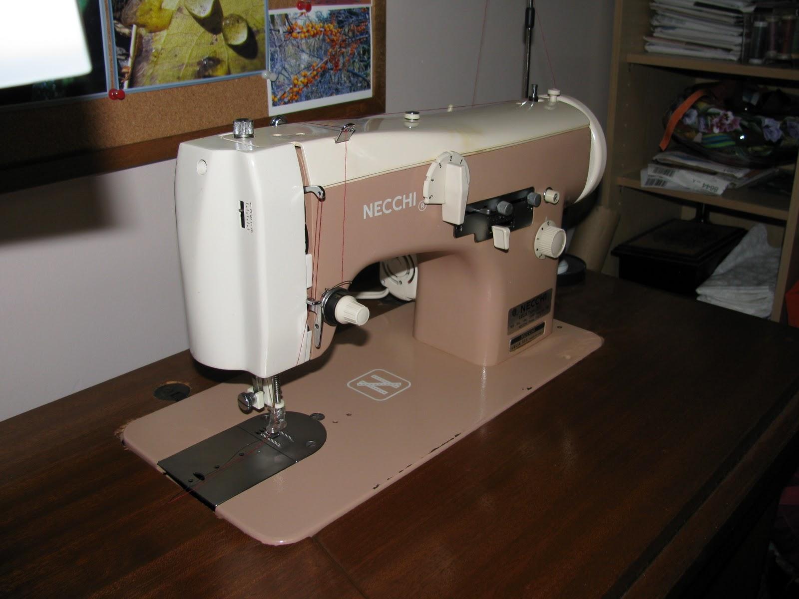 Necchi Sewing Machine Serial Numbers Nexthill Supernova Threading Diagram Vintage Singer