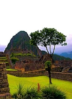 Machu Picchu after rain