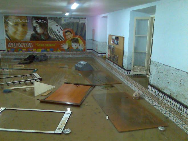 Aldaba inundada