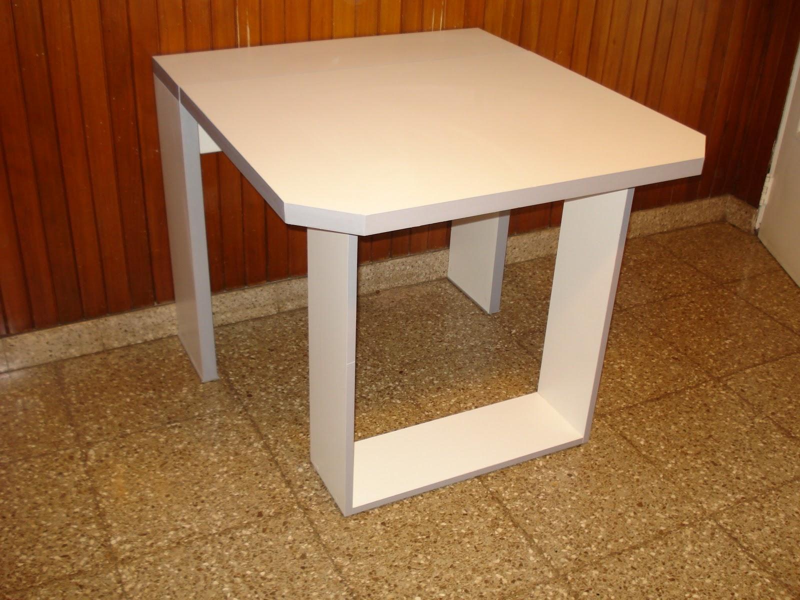 Mesas de comedor - Mesa de cocina blanca ...