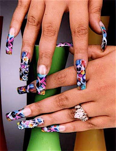 Cute Ghetto Nail Designs