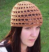 Crochet hat, summer-style