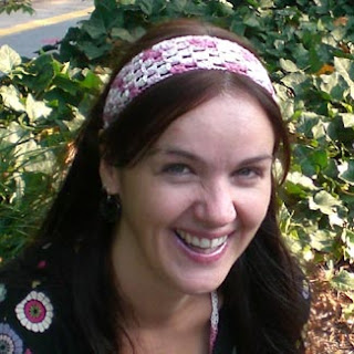 Knit Headband with Crochet Flower Crochet Pattern and Knit