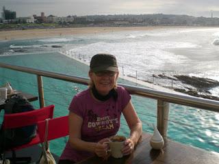 Bondi Beach, coffee break