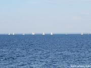 Sailboats Lake Ontario ~ View From Port Credit Mississauga (sailboats lake ontario )