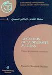 La gestion de la diversité au Liban. Visions de jeunes du secondaire
