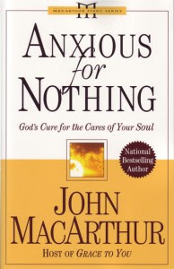 Free book from john macarthur anxious for nothing