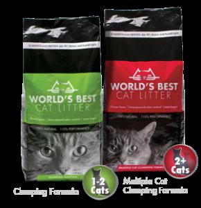 worlds best cat litter free after rebate