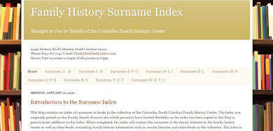 Family History Surname Index
