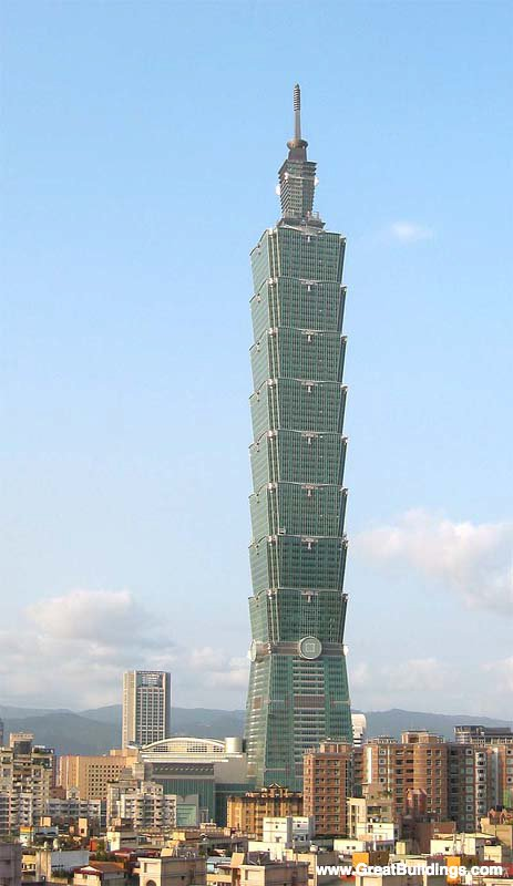 Salukitecture taipei world financial center for Taipei financial center corp