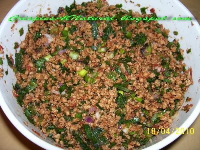 Crispies al natural relleno para fatay de soja texturizada - Como cocinar soja texturizada ...
