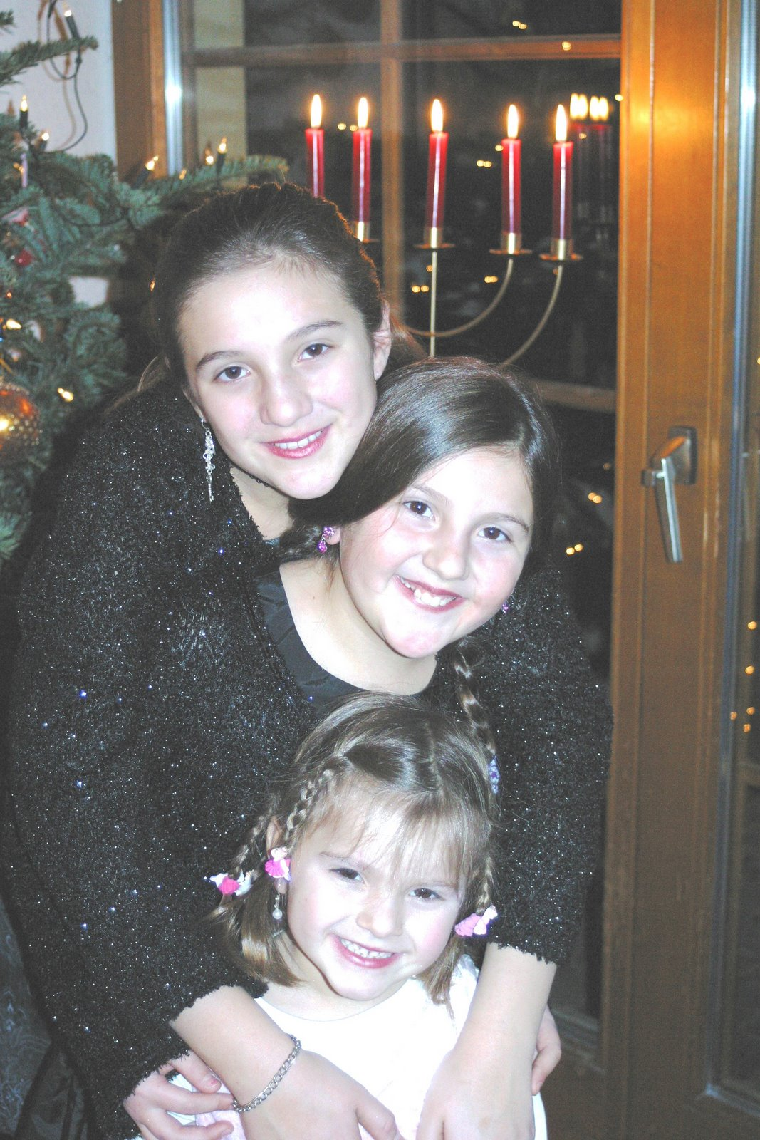 Zizi's Granddaughters, Xmas 2007