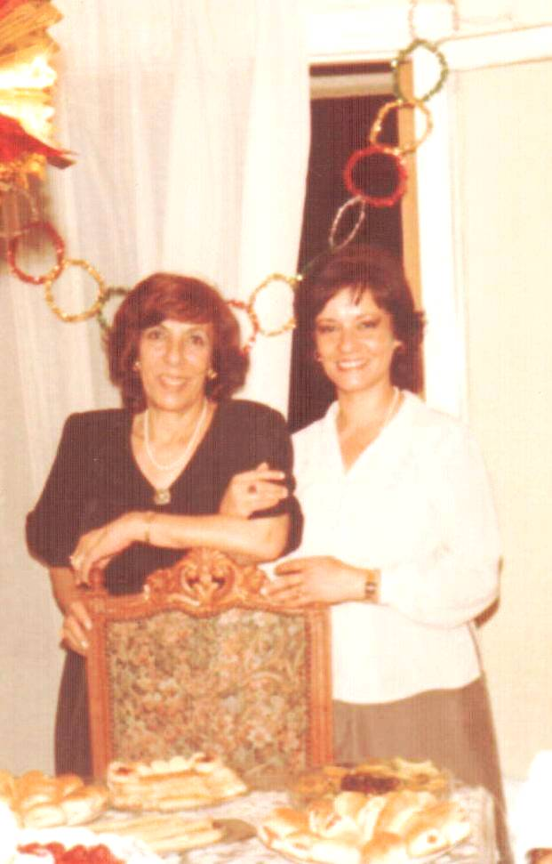 t. Leila and I in 1985