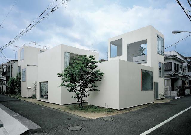 Project moriyama house design sanaa kazuyo sejima ryue nishizawa location ohta ku tokyo japan date 2005 photo el croquis vol 139