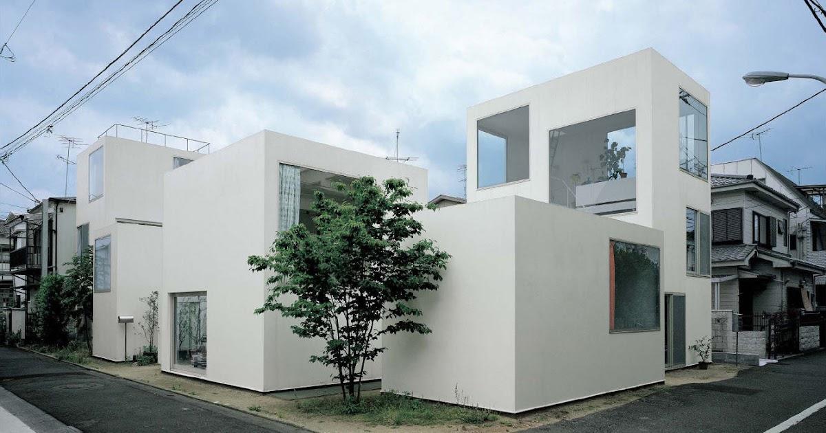 Amassing design moriyama house sanaa kazuyo sejima for Architecture tokyo