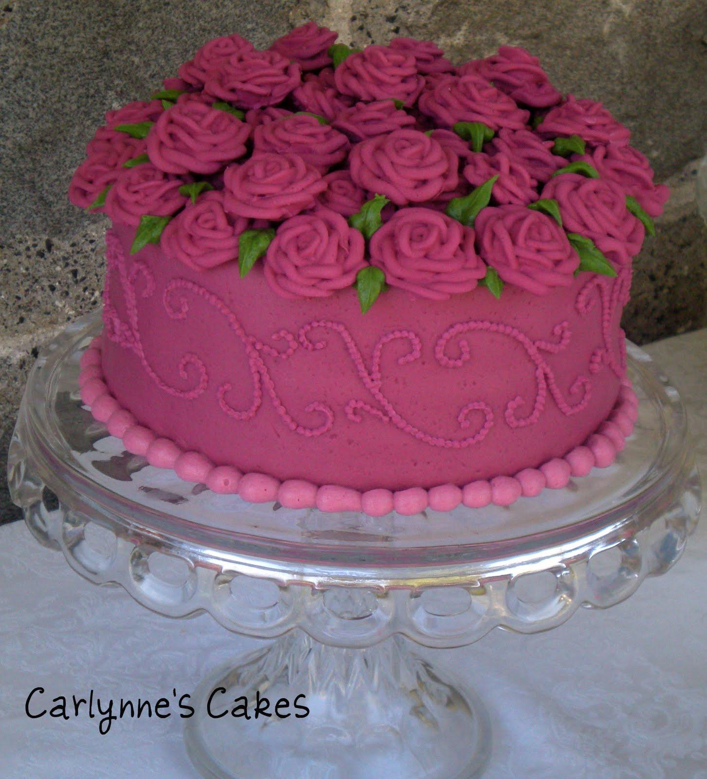 Carlynnes Cakes September 2010