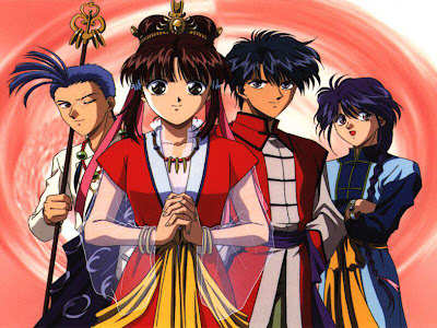 Fushigi Yuugi Club Wallpaper