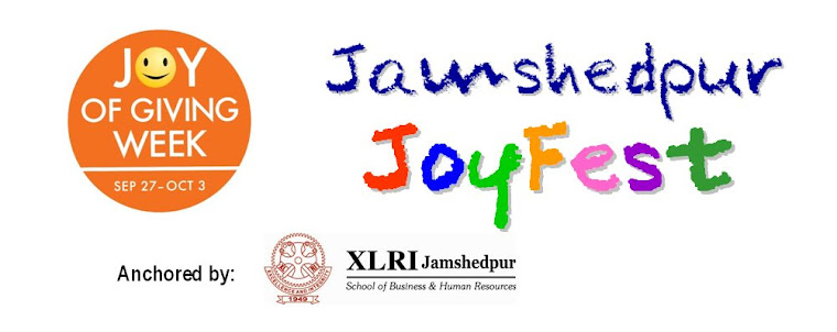 Joy of Giving Week: Jamshedpur JoyFest