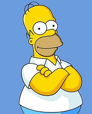 Os careca homer simpson um dos mais influente - Bart simpson nu ...