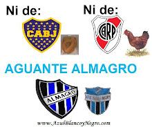 AGUANTE ALMAGRO!