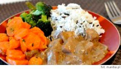 Wege obiad z tofu