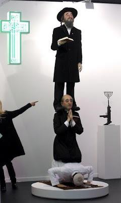 La obra «Stairway to heaven», de Eugenio Merino /ERNESTO AGUDO