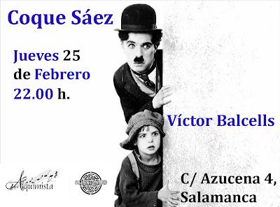 Coque Sáez y Víctor Balcells