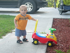 Kason and his new wheels!!