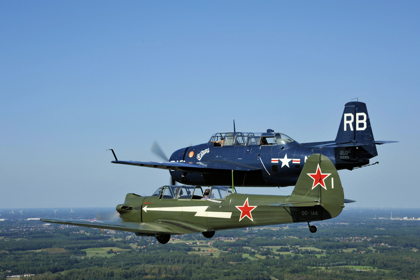 Wahoo! That's an Avenger from the Pacific war