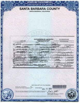 Santa Barbara County Birth Certificate California Get Vital