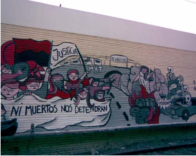 JAVIER BARRIONUEVO, En la Lucha Estas PRESENTE!!!