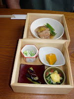 Japanese meal presentation